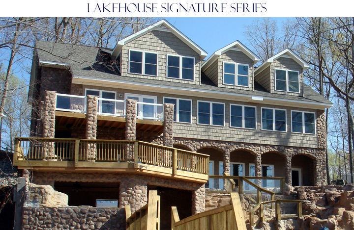 Lakehouse building design for Lakehouse construction