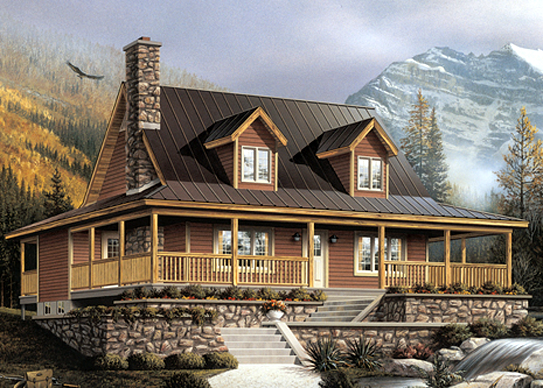 Lakehouse building design portfolio for Lakehouse construction